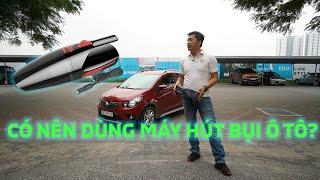 [Mẹo xe] Máy hút bụi mini cho ô tô liệu có cần thiết??