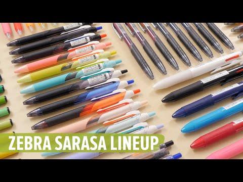 Zebra Sarasa Lineup