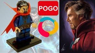 Лего Доктор Стрэндж из Китая. Обзор уникальной фигурки PG049
