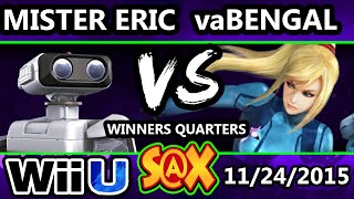 S@X 125 - HE | Mister Eric (ROB) Vs. mMm | vaBengal (Zero Suit) SSB4 WQ - Smash Wii U - Smash 4
