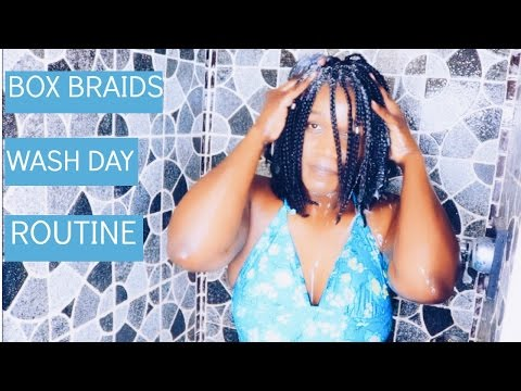 How To | Maintain And Wash Box Braids | Requested