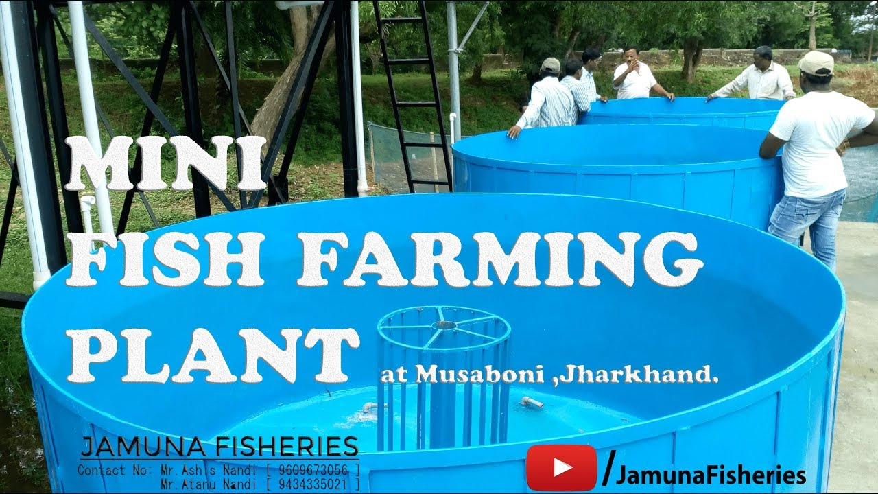 Mini(Portable) Fish Farming Plant at Musabani , Jharkhand