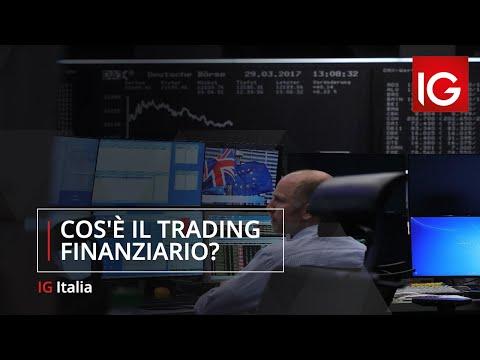 Cos'è il trading finanziario?
