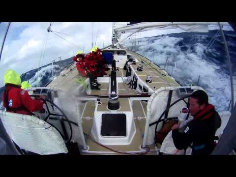Racing in the Southern Ocean on board Henri Lloyd during the Clipper Race