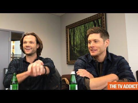 Supernatural Set 2017 - Jared Padalecki, Jensen Ackles & Alexander Calvert