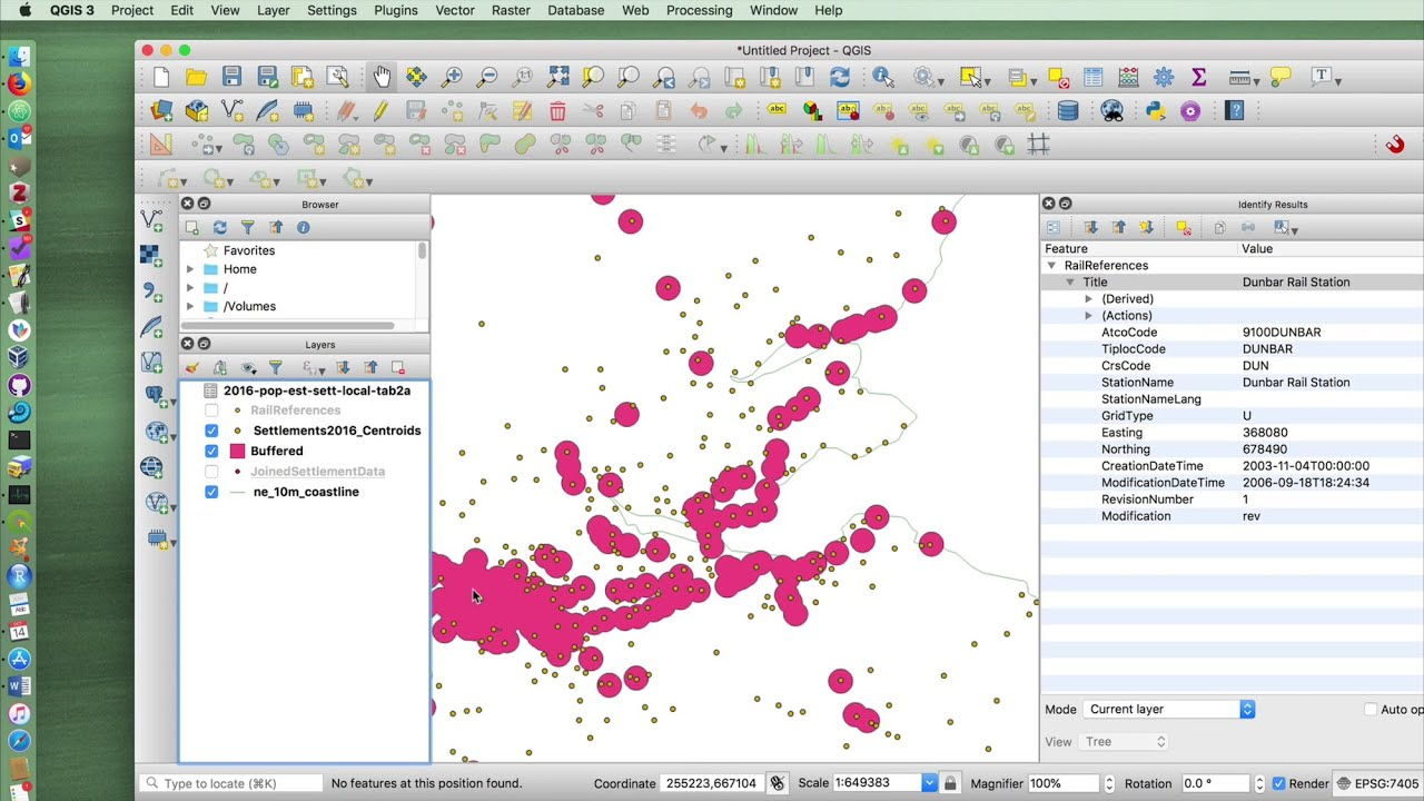 6 - QGIS 3 2 Tutorial - Buffer and Intersect