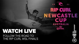 WATCH LIVE Men's Quarterfinals of The Rip Curl Newcastle Cup