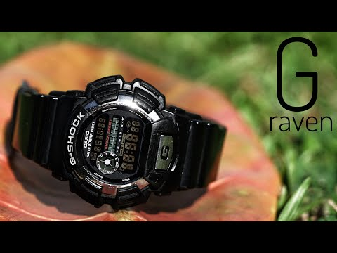 The RAVEN Series G-Shock DW-9500BM-1SJF Watch Review!