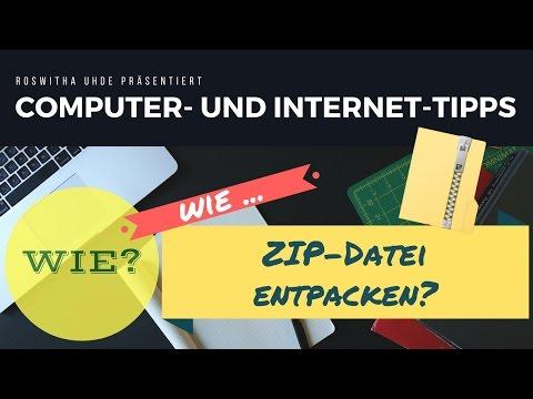 ZIP-Datei Entpacken Mit Windows Explorer - 2 Möglichkeiten