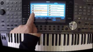 YAMAHA PSR-S970 Workshop 36 (Style programmieren)