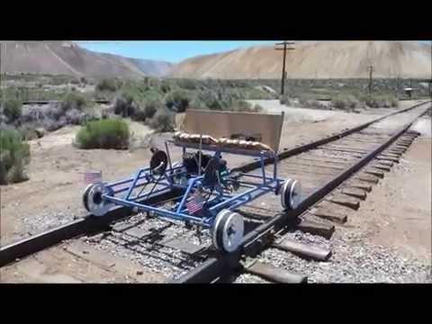 Rail Riding On The Nevada Northern Railway Youtube