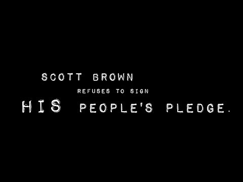 Scott Brown Refuses to Sign His People