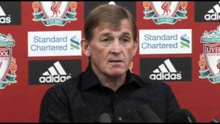 Dalglish on Europe and Andy Carroll's U21 call up | Fulham v Liverpool Premier League 09-05-11
