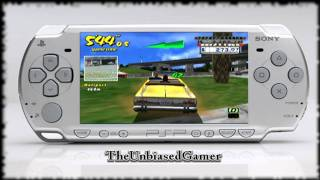 Crazy taxi- Fare wars- PSP- Crazy taxi 1 Gameplay