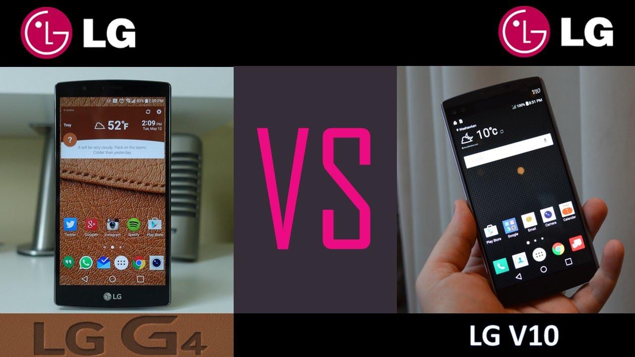 LG G4 VS LG V10 for T-MOBILE