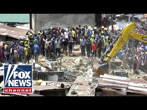 School building collapses while classes were in session in Nigeria