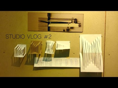 Architecture Studio Vlog #2