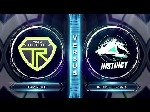 FCS S2 Round 4 - Instinct Esports vs Team Reject