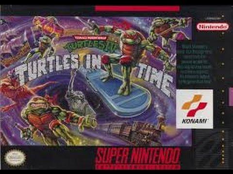 Teenage Mutant Ninja Turtles IV: Turtles In Time (Super Nintendo)