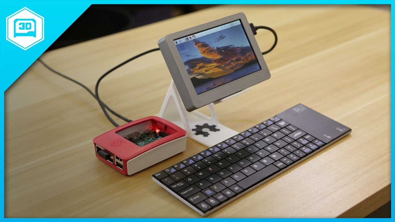Portable HDMI Display for Raspberry Pi