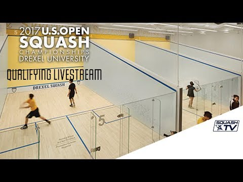 Qualifying RD1 Live Stream -  US Open Squash 2017 Presented by MacQuarie Investment Management