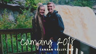 CAMPING IN CANAAN VALLEY, WV