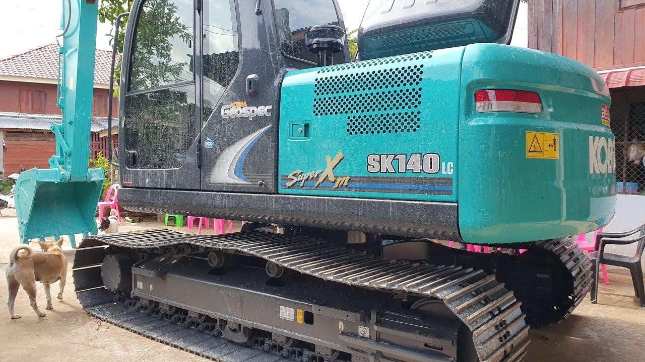 ยินดีกับรถใหม่ ทีมงาน ท.เจริญทรัพย์ ใหม่แกะกล่อง Kobelco SK 140-8 super xm