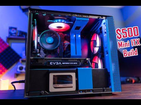 $500 Build | 2600X + GTX 1070  MINI ITX BUILD
