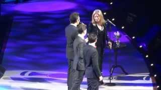 Barbra Streisand & Il Volo - Smile - Las Vegas, Octubre 2012
