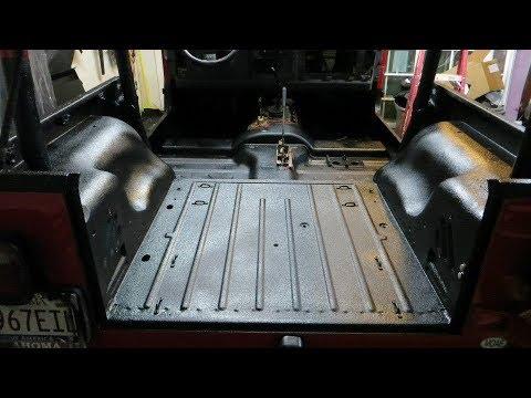 Jeep Wrangler Raptor Bed Liner