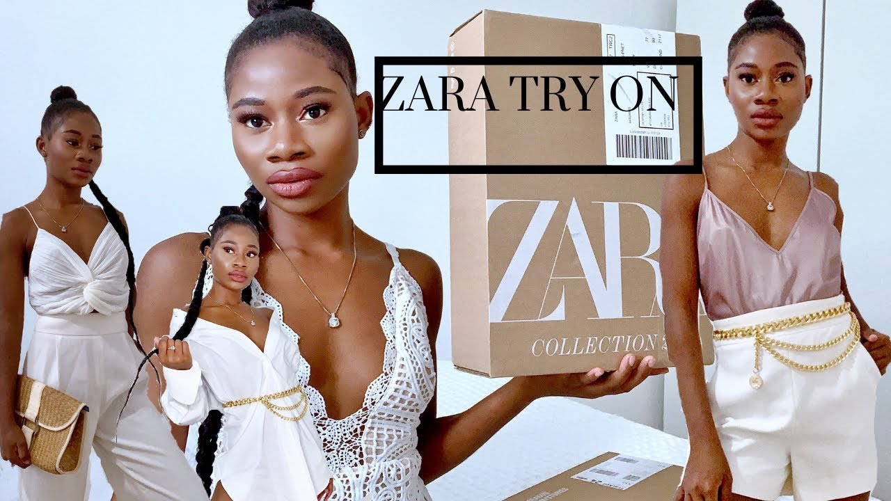 HUGE ZARA HAUL + TRY ON *NEW IN* SPRING SUMMER 2020 COLLECTION | Bunmi Afuye