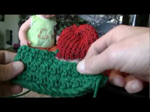 Crochet Elf Booties Youtube