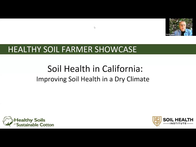 Spotlight on California: Improving Soil Health in a Dry Climate
