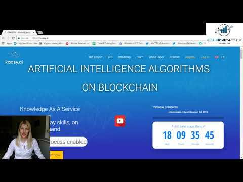 KAASY, artificial intelligence algorithms on blockchain - CoinInfo.News