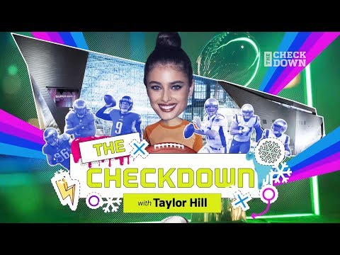 Super Bowl Week Like You've Never Seen with Supermodel Taylor Hill | The Checkdown | NFL Network
