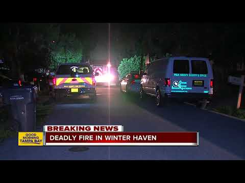 Woman killed in house fire in Winter Haven