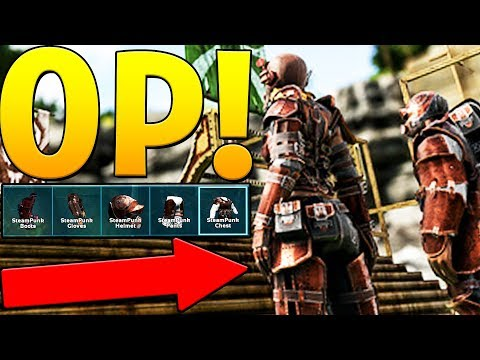 THE BEST ARMOR IN THE GAME STEAMPUNK! - ARK SURVIVAL EVOLVED ABERRATION EXPANSION #21