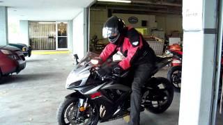 First Ride on GSXR 750