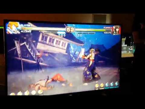 Arika Fighting Game gameplay (Street Fighter EX Devs) from Tokyo Indie Show before TGS