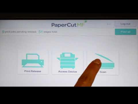 Tour - Fuji Xerox Embedded Software for PaperCut MF
