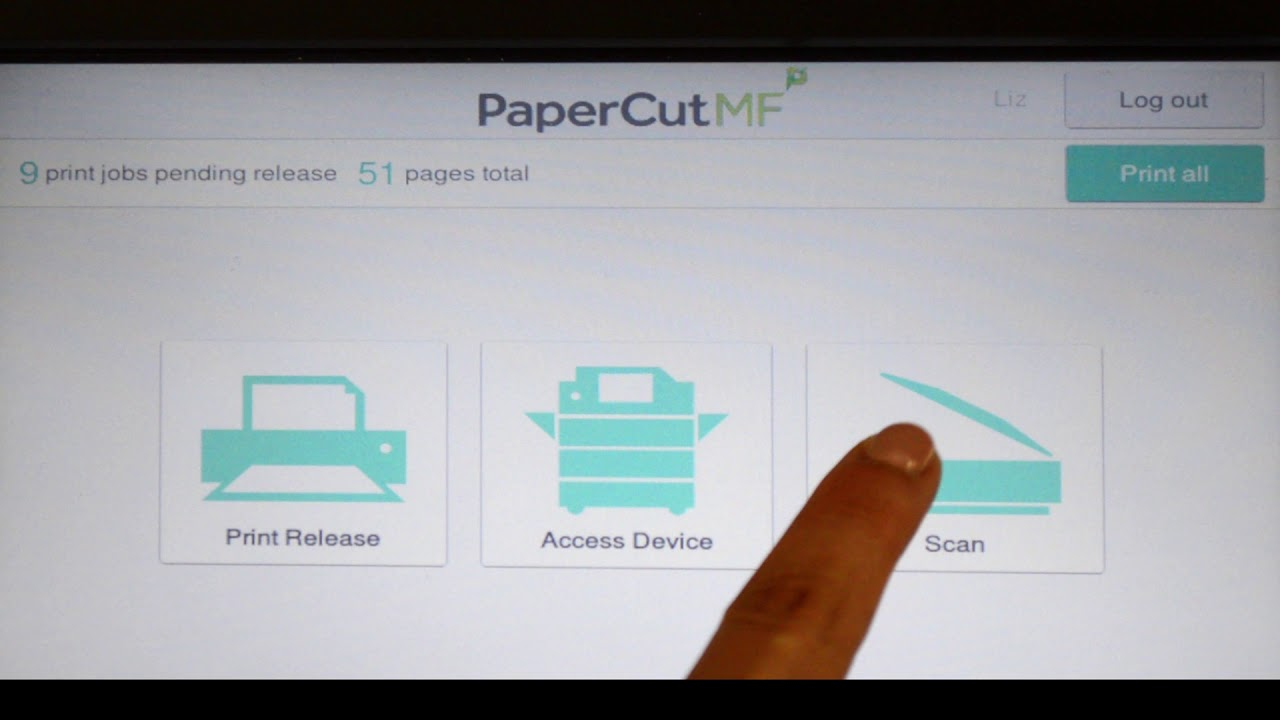 Tour - Fuji Xerox Embedded Software for PaperCut MF