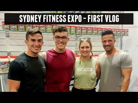 Sydney Fitness Expo - MY FIRST VIDEO