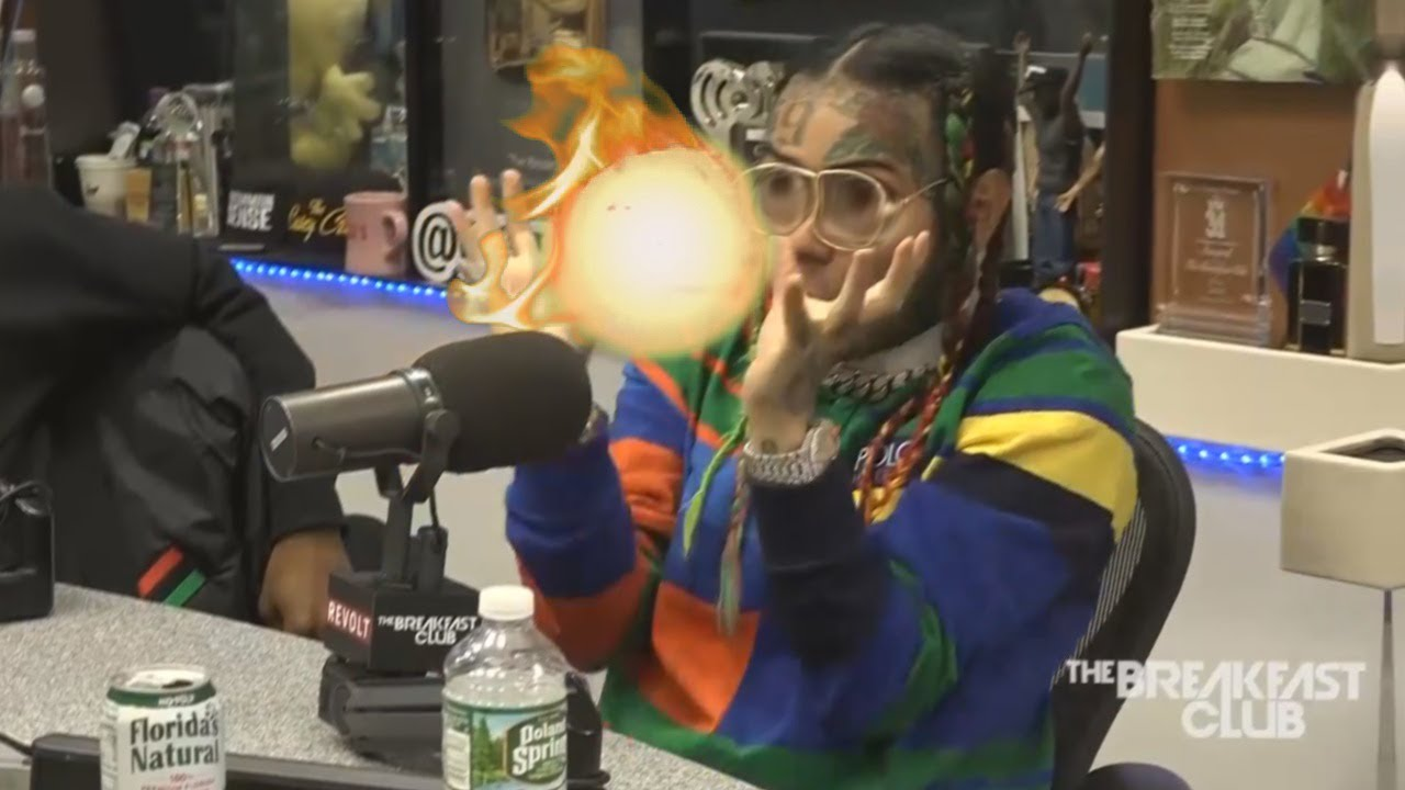 6ix9ine Learns To Water Bend