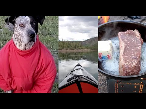 High Mountain Adventuring, Backpacking, Trout Fishing, 4 x 4 Action & Firebox Stove Campfire Cooking