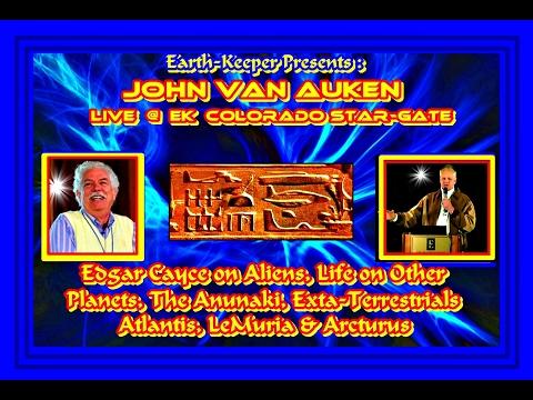 Edgar Cayce on ET's, Anunaki, Aliens & Life on Other Planets- John Van Auken