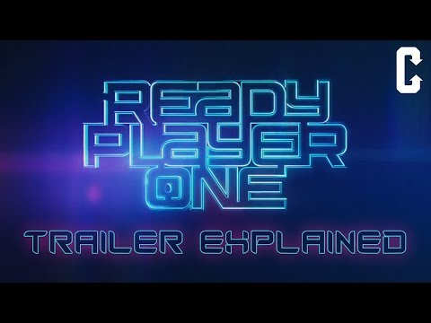 Ready Player One Trailer Explained Ft. Back To The Future, Freddy Krueger, Iron Giant, Lara Croft
