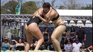 Women Wrestling in Coleslaw For $1000 | Daytona Bike Week