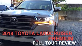 2018 Toyota Land Cruiser LC200 Premium 6SPD V8 DSL Full Tour Review
