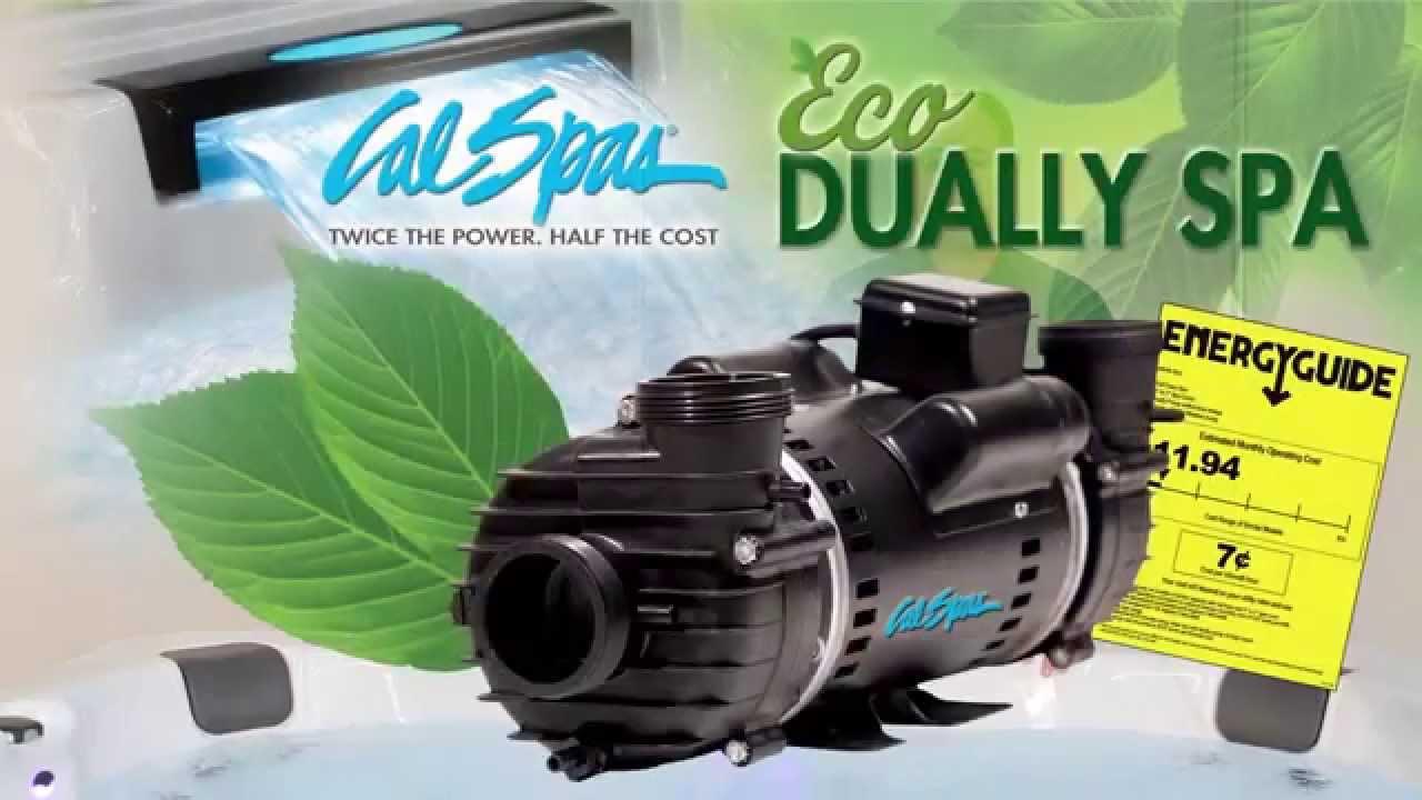 Cal spas dually spa pump for hot tubs youtube for Cal spa dually pump motor
