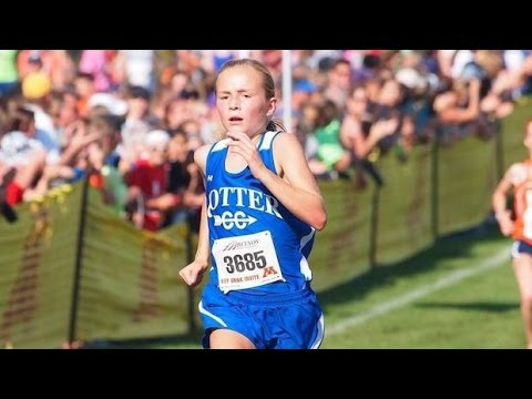 Grace Ping, 7th grader, takes down the ENTIRE 2015 Roy Griak high school field